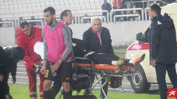 FK Sarajevo podnio krivičnu prijavu za pokušaj ubistva Džakmića