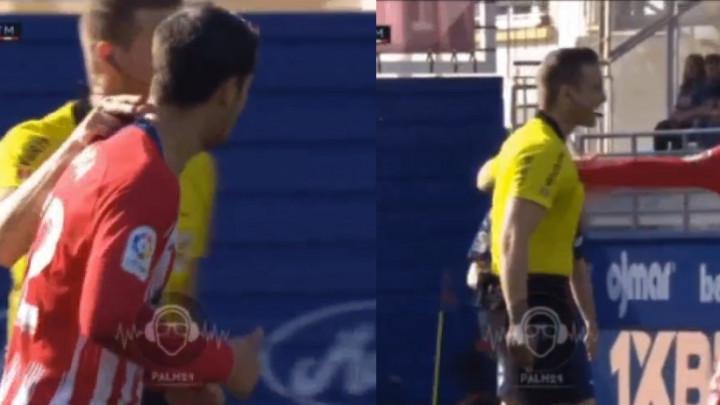 Iz Atletica optužuju sudiju da je udario Alvara Moratu