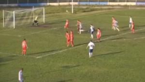 Gol koji je postigao Ahmetović rijetko se viđa na bh. terenima