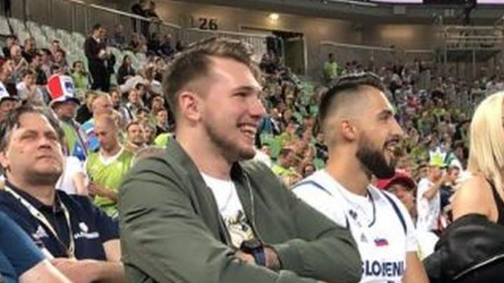 Luka Dončić ne može bez reprezentacije: I kada ne igra, on je tu!