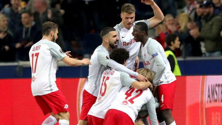 RB Salzburg furioznim prvim poluvremenom osigurao prolaz dalje