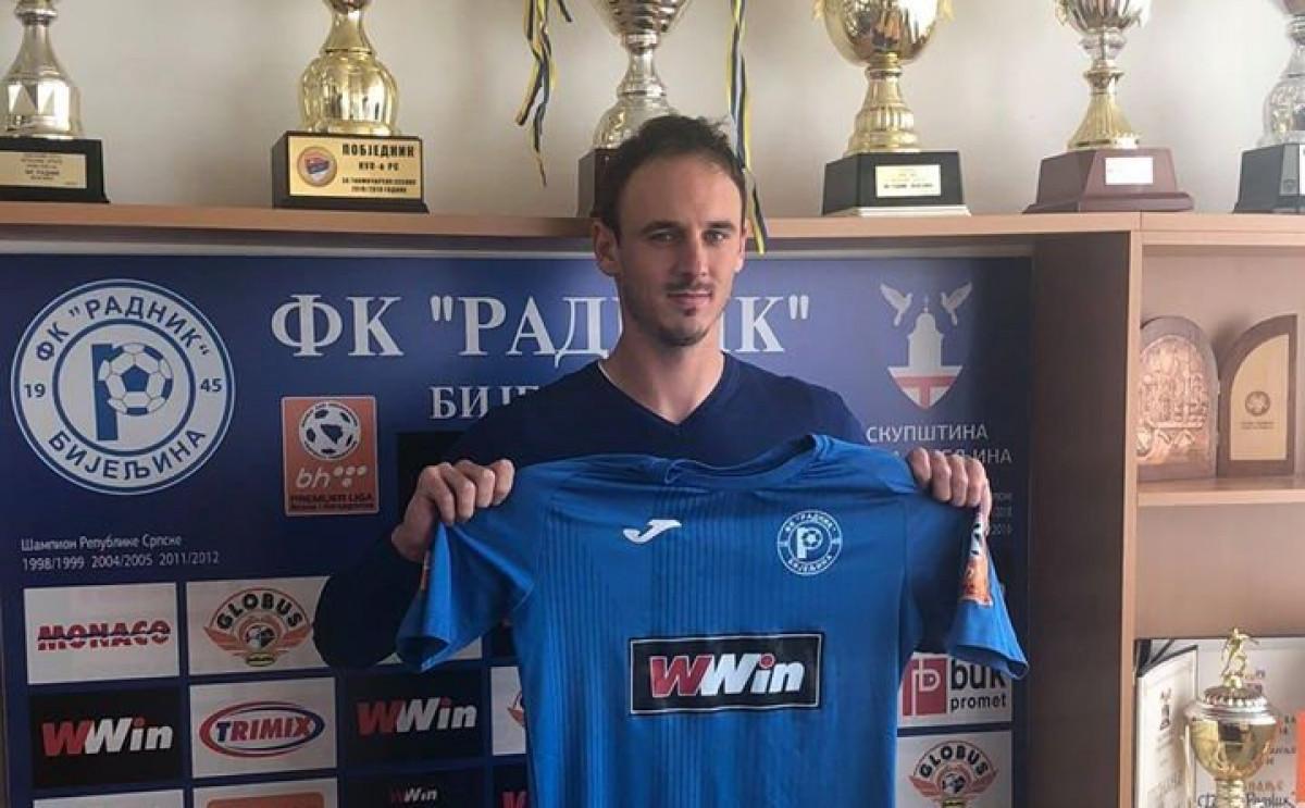 Saša Novaković novo pojačanje FK Radnik