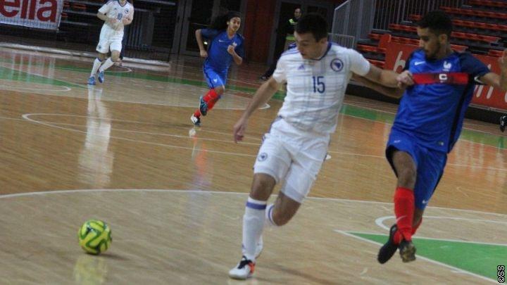 Futsal U-21 reprezentacija BiH ubjedljiva protiv Francuske