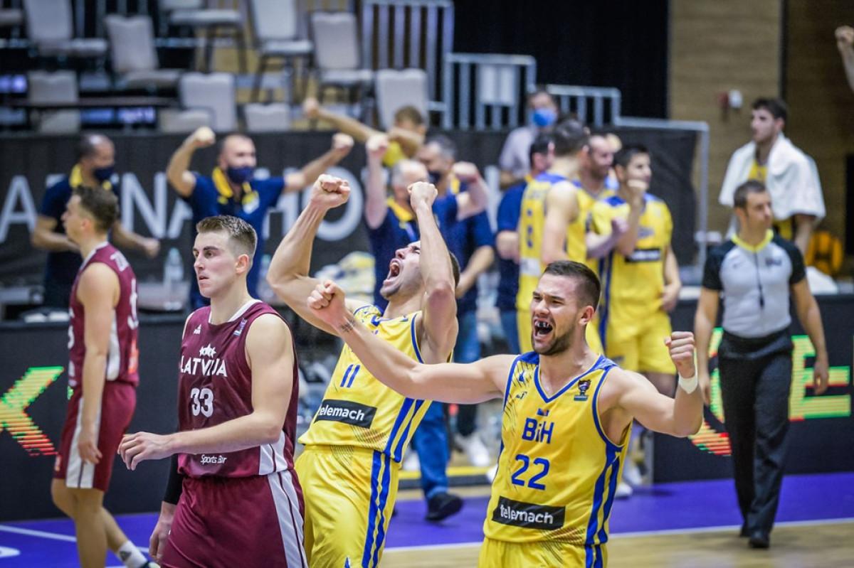 FIBA objavila domaćine posljednjih prozora kvalifikacija za EP: BiH u februaru u Latviji