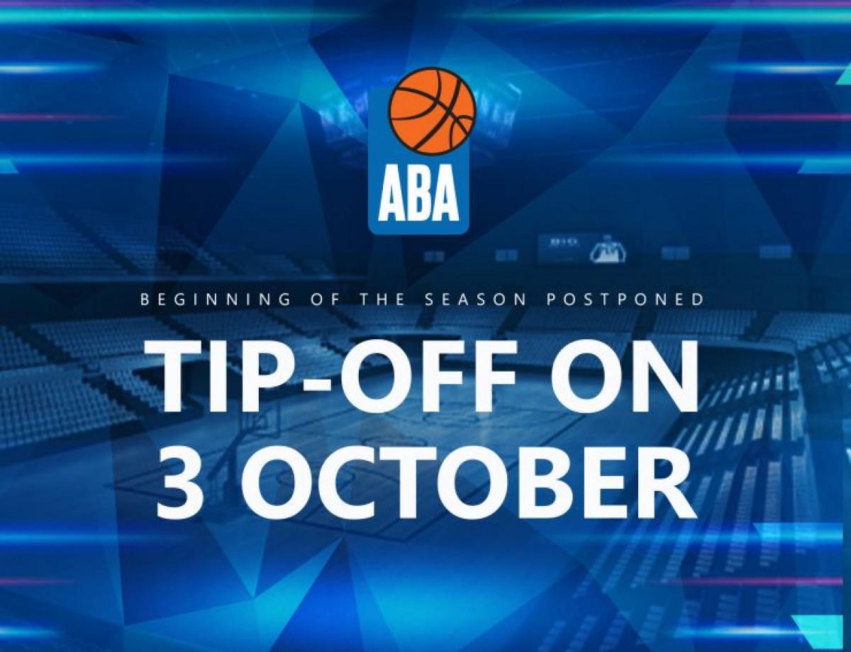 Pomjeren start ABA lige