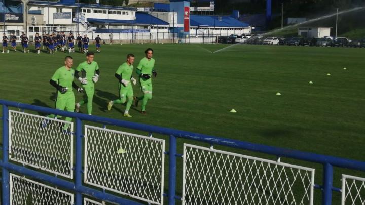 Fejzić se priključio treninzima Željezničara