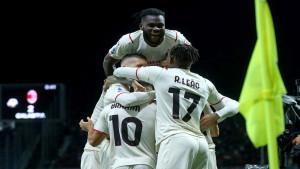 Milan slavio u Bergamu i zaliječio rane od Atletica