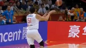 Asistencija Bobana Marjanovića je potez dana na Mundobasketu