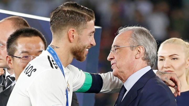 Perez zbog ozbiljnog razloga ne može potjerati Ramosa iz Reala
