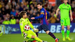 Barcelona spašena, Levante napravio veliki propust