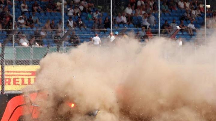 Stravična nesreća na treningu Formule 1