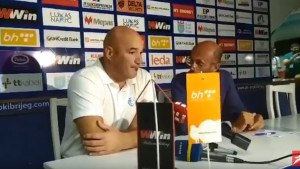 Bošnjaković nakon pobjede protiv Širokog: Mi smo došli po bodove, imali smo plan...