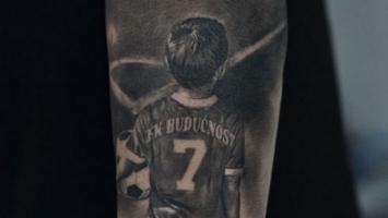 Bivši igrač Partizana tetovažom razbjesnio Grobare