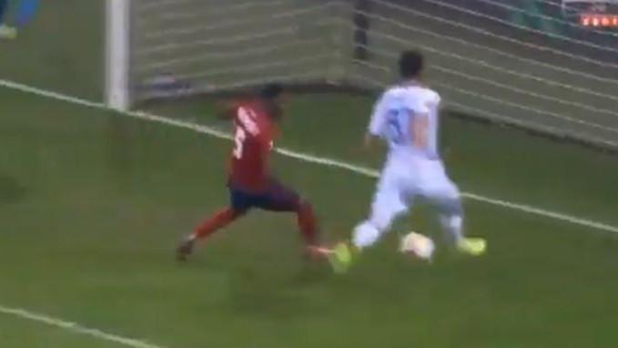 Nije šala: Candreva nije uspio iz ove pozicije da zabije gol