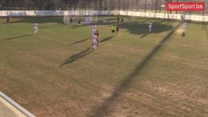 Pogledajte golove i šanse na prvom poluvremena meča FK Sarajevo - FK Napredak