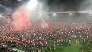 Ludilo u Berlinu: Prvi put ušli u Bundesligu, a Stuttgart poslali u Cvajtu