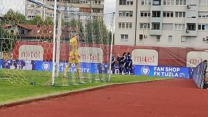 Džafić fenomenalnim golom izjednačio protiv Sarajeva