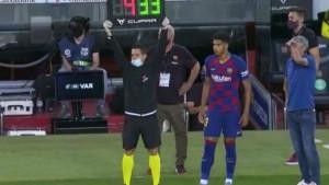 Setien je sinoć jednom izmjenom protiv Espanyola doveo do ludila navijače Barcelone