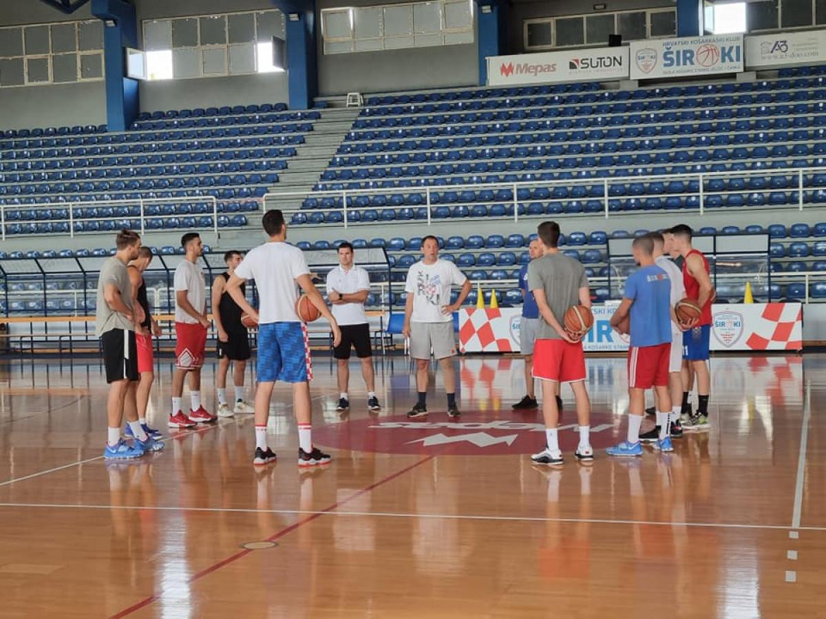 Košarkaši Širokog počeli sa pripremama