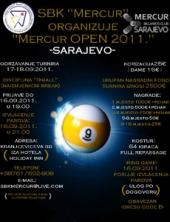 """Bilijar turnir """"Mercur Open 2011"""""""
