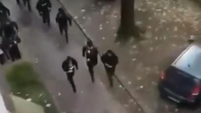Haos na ulicama Beograda: Huligani se potukli pred meč Rad - Partizan