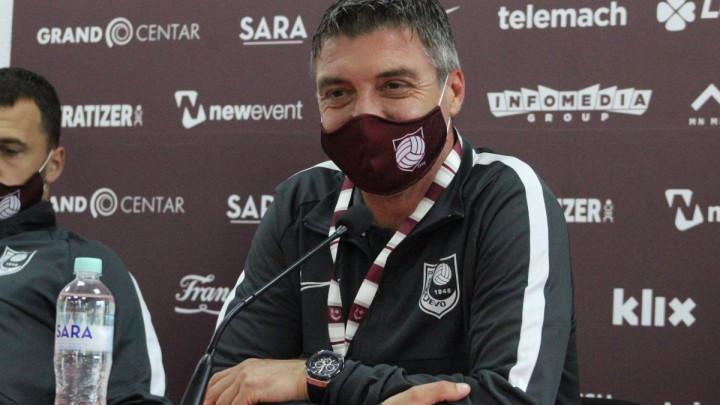 Marinović: Svi znamo koji je značaj ove utakmice, a sastav neću otkriti jer to nikada ne radim