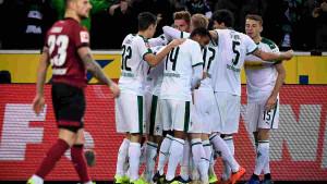 Borussia M'Gladbach rutinski sa Nurnbergom