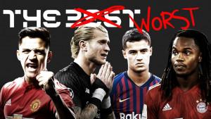 Ovi igrači su baš zakazali: Marca izabrala najgori sastav za 2019. godinu