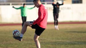 Najmlađi igrač otkrovljenje u dosadašnjem dijelu priprema NK Čelik