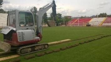 Novi radovi na stadionu Mladosti