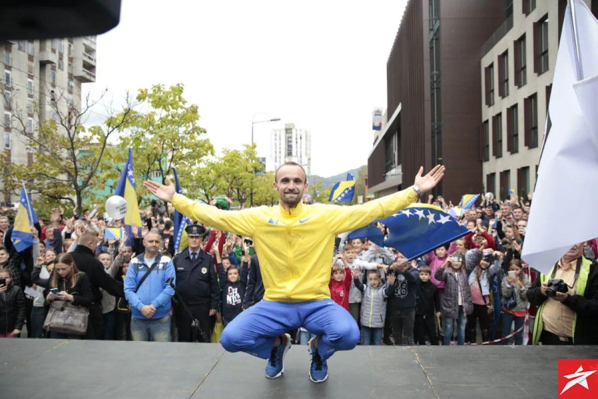Amel Tuka izabran za sportistu godine Bosne i Hercegovine