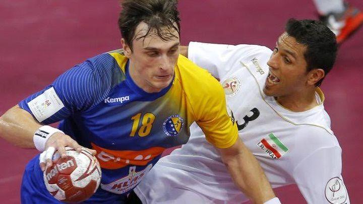 Karačić debitovao, Kadetten u polufinalu kupa