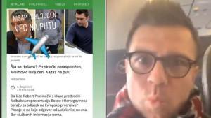 Misimović reagovao: Nisam isključen, evo u avionu sam