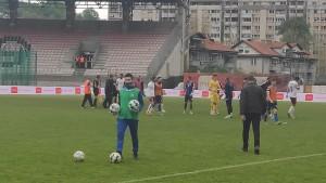 Protesti igrača Sarajeva nakon utakmice na Tušnju