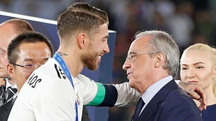 """Ramos priznao Perezu da ima ponudu iz Kine: """"Jasno sam mu rekao šta ćemo uraditi"""""""