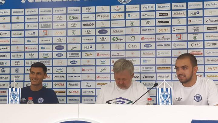 Petar Bojo: Želio sam doći na Grbavicu, sutra se nadamo bodovima