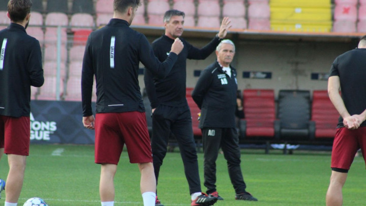 FK Sarajevo trenirao u Zenici: Marinović na treningu poslao jasnu poruku igračima