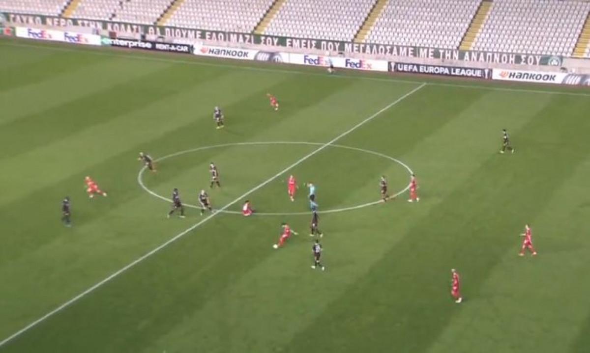Spektakl na Kipru: Igrač Omonije zabio gol PSV-u sa svoje polovine terena!