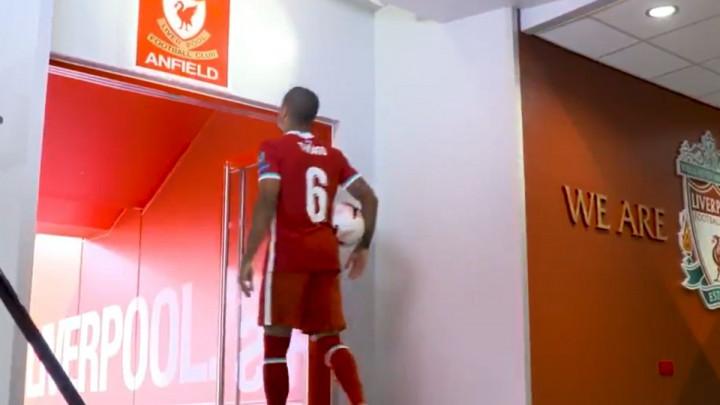 Thiago odbio da dodirne famozni grb u tunelu Anfielda: Samo je zastao, pogledao i produžio...