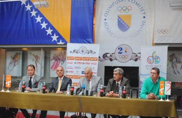 OK BiH na press konferenciji iznio jedinstven stav pred EYOF