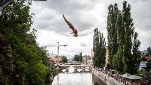 Sarajevska uvertira pred Red Bull Cliff Diving takmičenje u Mostaru