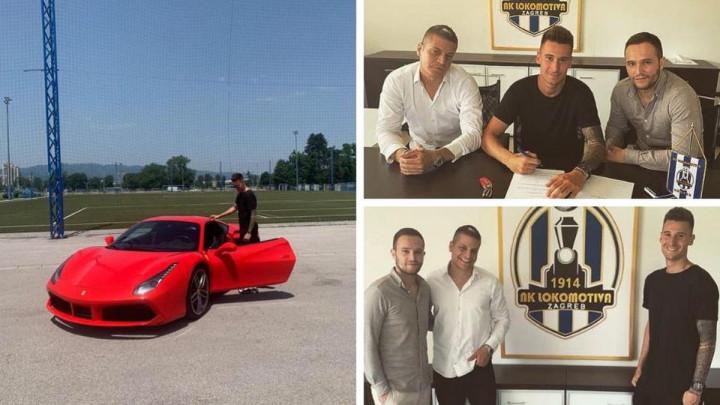 Novi igrač Lokomotive na potpis ugovora došao Ferrarijem