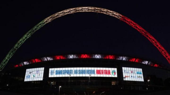 Svjetla na Wembleyju su večeras upaljena