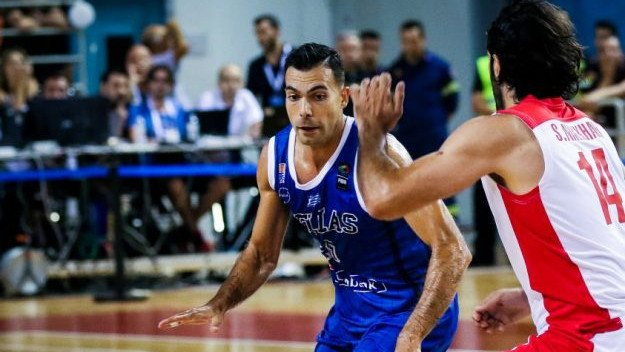 Sloukas se pridružio ostatku grčke reprezentacije