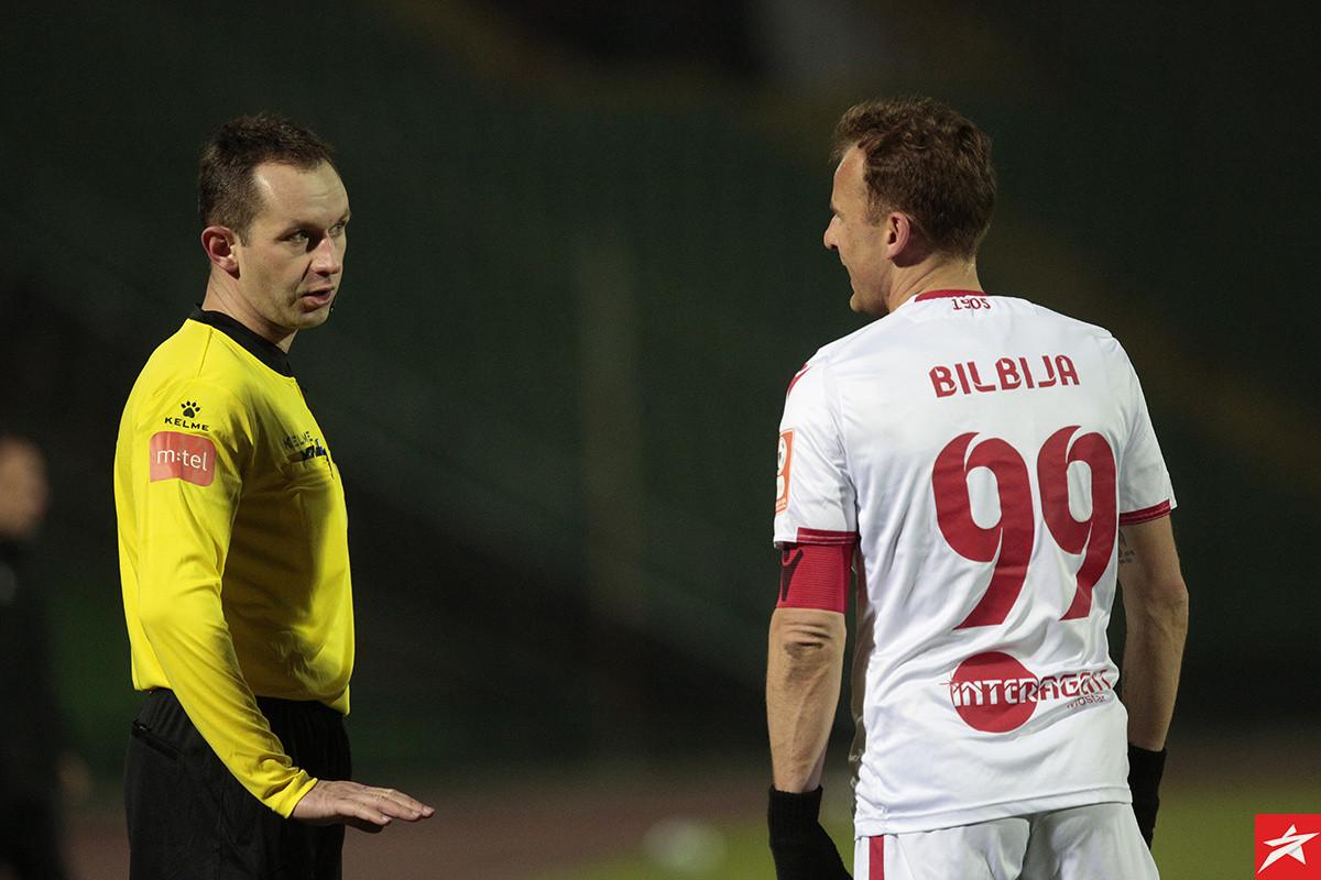 Nemanja Bilbija za pet minuta dva puta tresao mrežu Hajduka