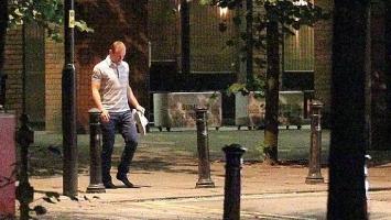 Rooney se u čarapama šetao kroz Manchester