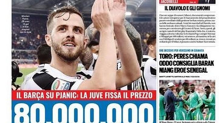 Barcelona ne odustaje od Pjanića: Juventus odredio cijenu