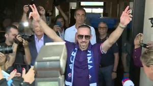 U Firenci niko nije do dočekan kao Ribery