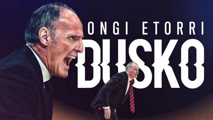 Duško Ivanović po treći put na klupi Baskonije