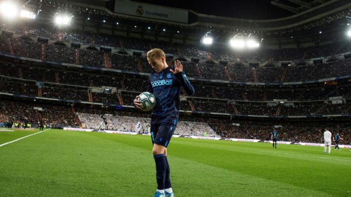 Nakon pet godina čekanja Odegaard konačno dobija šansu u Real Madridu